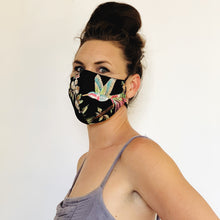 Load image into Gallery viewer, Fancy Face Mask- mesh embroidery