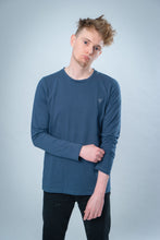 Load image into Gallery viewer, BAXTER L/S TEE [petrol blue]