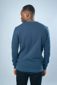 WILLOUGHBY SWEATSHIRT [petrol blue]