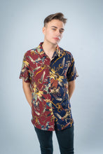 Load image into Gallery viewer, DENMAN PRINT [navy/bordeaux]