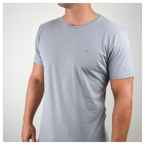 EMERSON TEE [sharkskin grey]