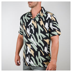 BRUSHSTROKE PRINT [black]