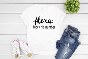 ALEXA, BLOCK HIS NUMBER