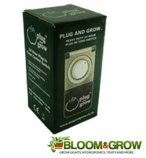 PLUG AND GROW (24HOUR TIMER)