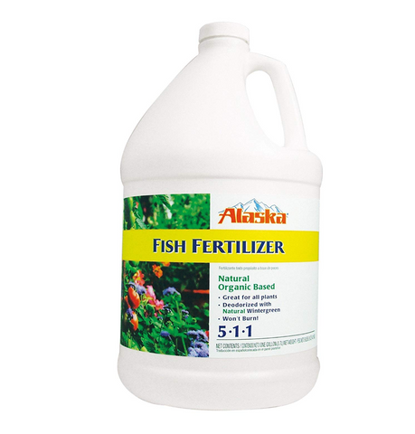 Alaska Fish Emulsion Fertilizer 5-1-1