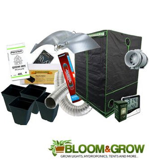 100X100X200 BLOOM & GROW BOX WITH ADJUST A WINGS