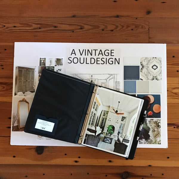 New to A Vintage Soul Design: Custom Vision Boards!