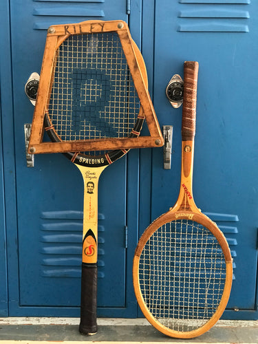 1960's Wooden Pancho Gonzales signature Spalding racket (LEFT ONLY)