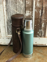 Vintage Stanley thermos with carrying case- quart size