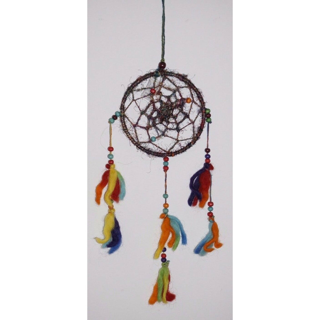 Dream catcher Hemp tie dye spiritual Feng shui Indian new age dream Wicca