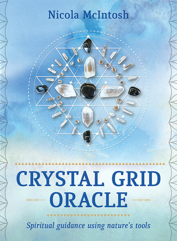 Crystal Grid Oracle Spiritual guidance using nature's tools tarot cards deck
