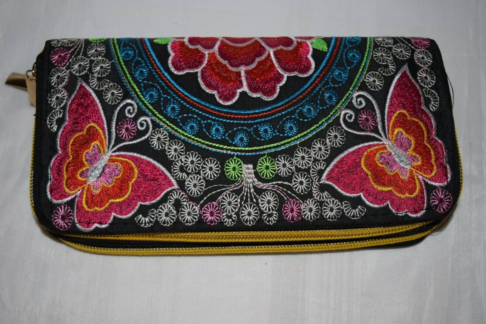 Purse Sabai Jai Ethnic Embroidered handbag ladies wallet clutch Handmade boho