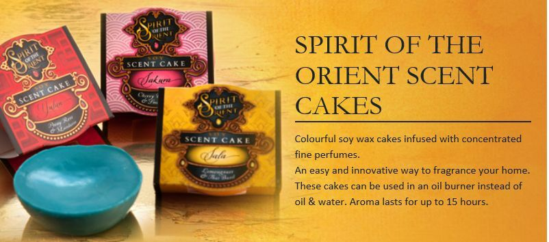 Soy melts Simply scent cakes Spirit of Orient Gum leaf fragrance Wax