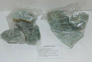 Green Aventurine Gemstones bulk 1 kilo bag natural rough mixed stones sizes