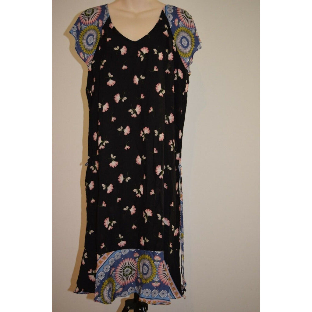 Dress short sleeve summer dress Hippie Rayon casual Beach
