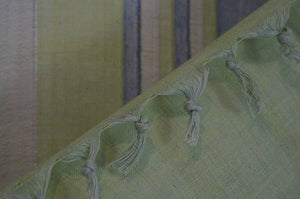 Queen Bed Hand Woven bed throw sheet cover wall hanging wall art bedroom green