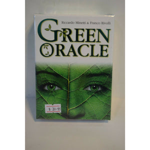 Green Oracle Cards Oracle tarot Card spiritual connection and harmony