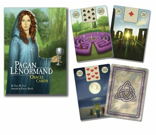 PAGAN LENORMAND ORACLE tarot deck card wicca cards