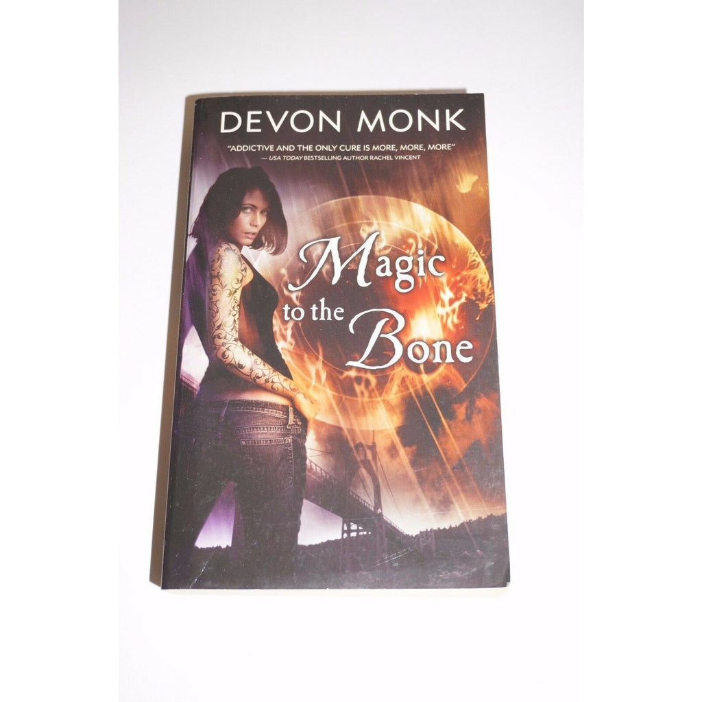 Magic to the bone By Devon Monk paperback fiction Read used book