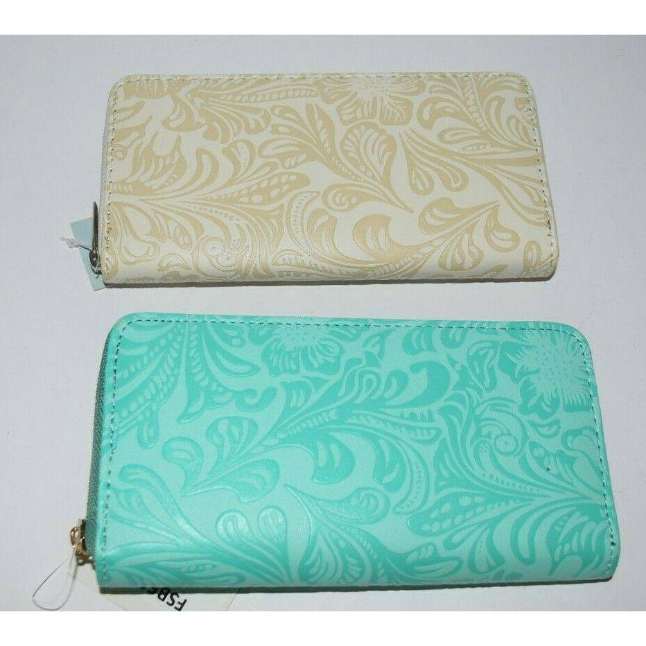 Purse Wallet bag coin Clutch Organizer money long design phone embossed