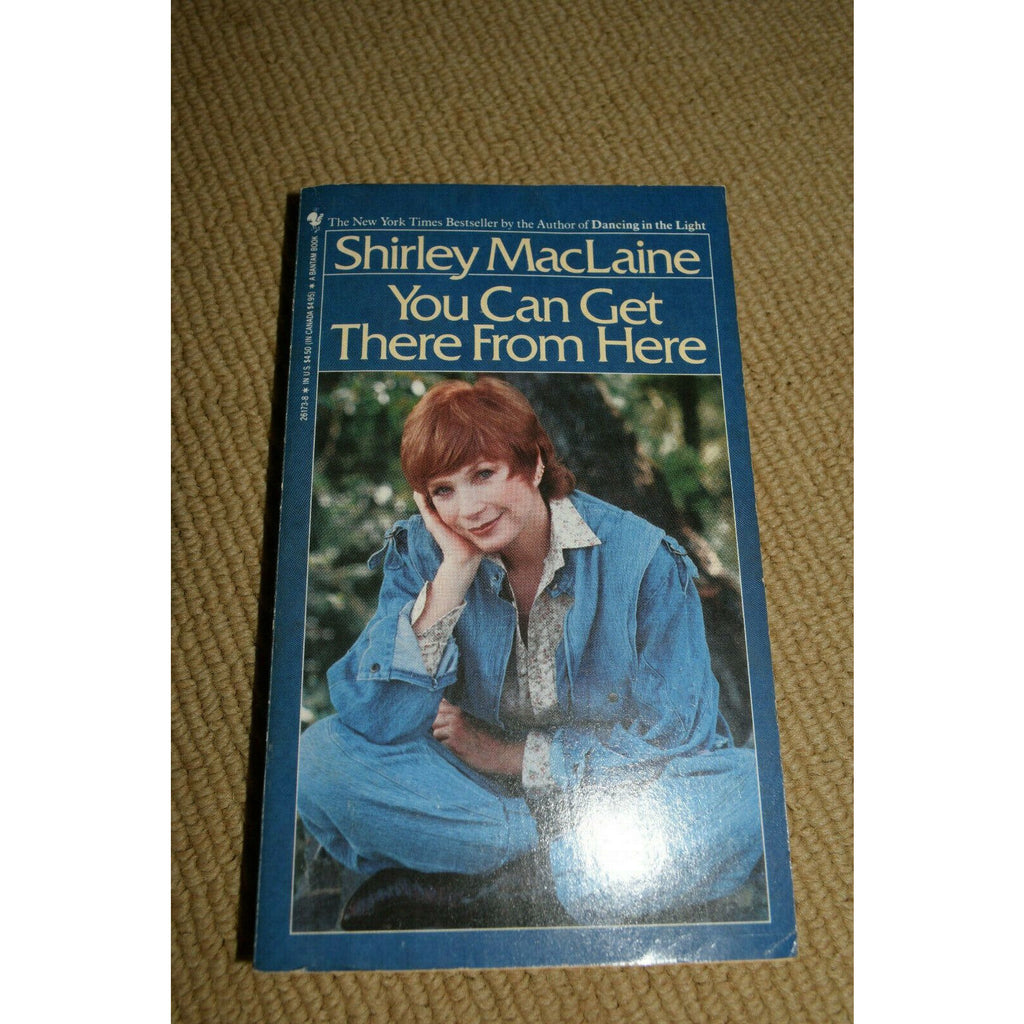 You can get there from here Shirley maclaine used book