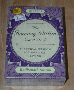 The Journey Within Card Deck Oracle Cards tarot Card Deck Radhanath Swami