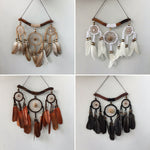 Dreamcatcher spiritual dreaming weaver feathers dream-catcher 15cm