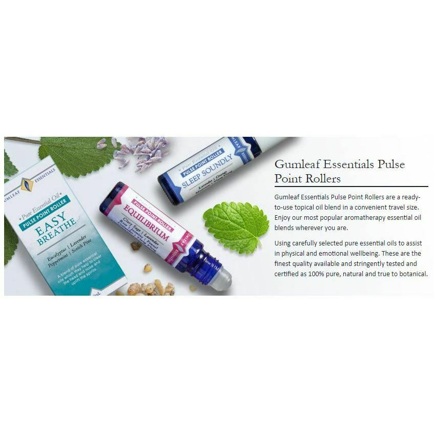 Essentials Pulse Point Rollers Aroma aromatherapy essential oil blends travel