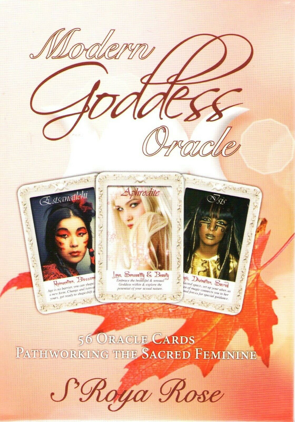 Modern Goddess Oracle Cards Deck tarot Card sacred feminine by S'Roya Rose