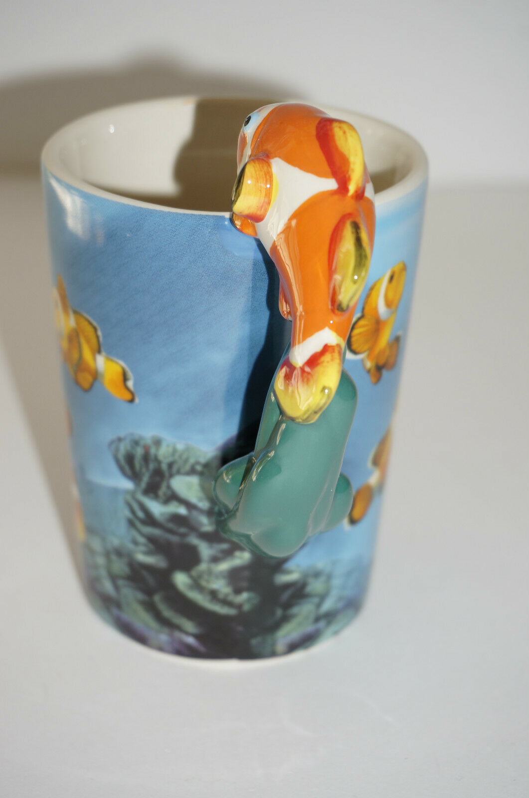 Nemo clown fish Coffee Mug Cup bone China Fantasy Animal jungle novelty gift