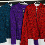 Jacket sweater windcheater coat hoodie tibetan handmade nepal cotton womens