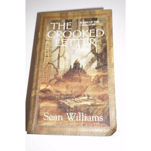 The crooked letter By Sean Williams Book paperback fiction Read used book