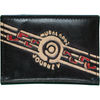 Australian indigenous Artist Leather Card Holder 10 X 7cm