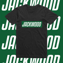 Load image into Gallery viewer, JACKWOOD SLOGAN-GREEN AND WHITE