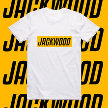 Load image into Gallery viewer, JACKWOOD SLOGAN-YELLOW AND BLACK