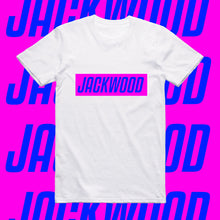 Load image into Gallery viewer, JACKWOOD SLOGAN-PINK AND BLUE