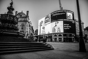 PICCADILLY CIRCUS - LUSTRE FUJI FILM - ART PRINT - FROM LONDON LOCKDOWN COLLECTIVE