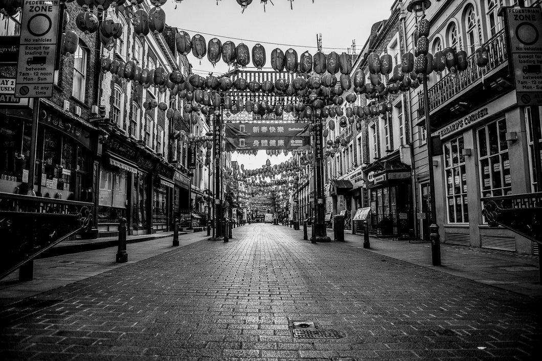 CHINA TOWN - LUSTRE FUJI FILM - ART PRINT - FROM LONDON LOCKDOWN COLLECTIVE