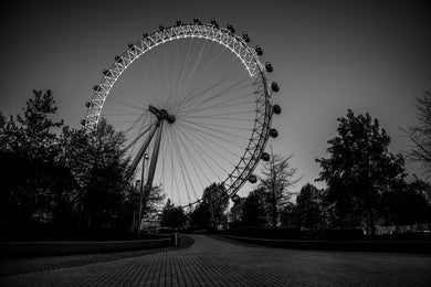 LONDON EYE - LUSTRE FUJI FILM - ART PRINT - FROM LONDON LOCKDOWN COLLECTIVE