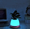 Music Flower Pot, Wireless Bluetooth Speaker, LED Light  (Plant not Included)