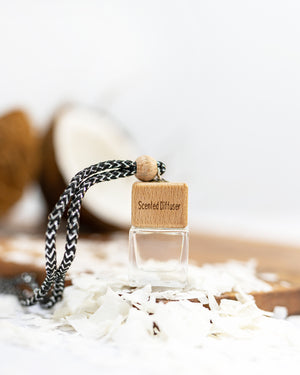 Hanging Car diffuser - Coconut & Lemongrass