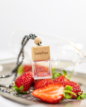 Hanging Car diffuser - Champagne & Strawberries