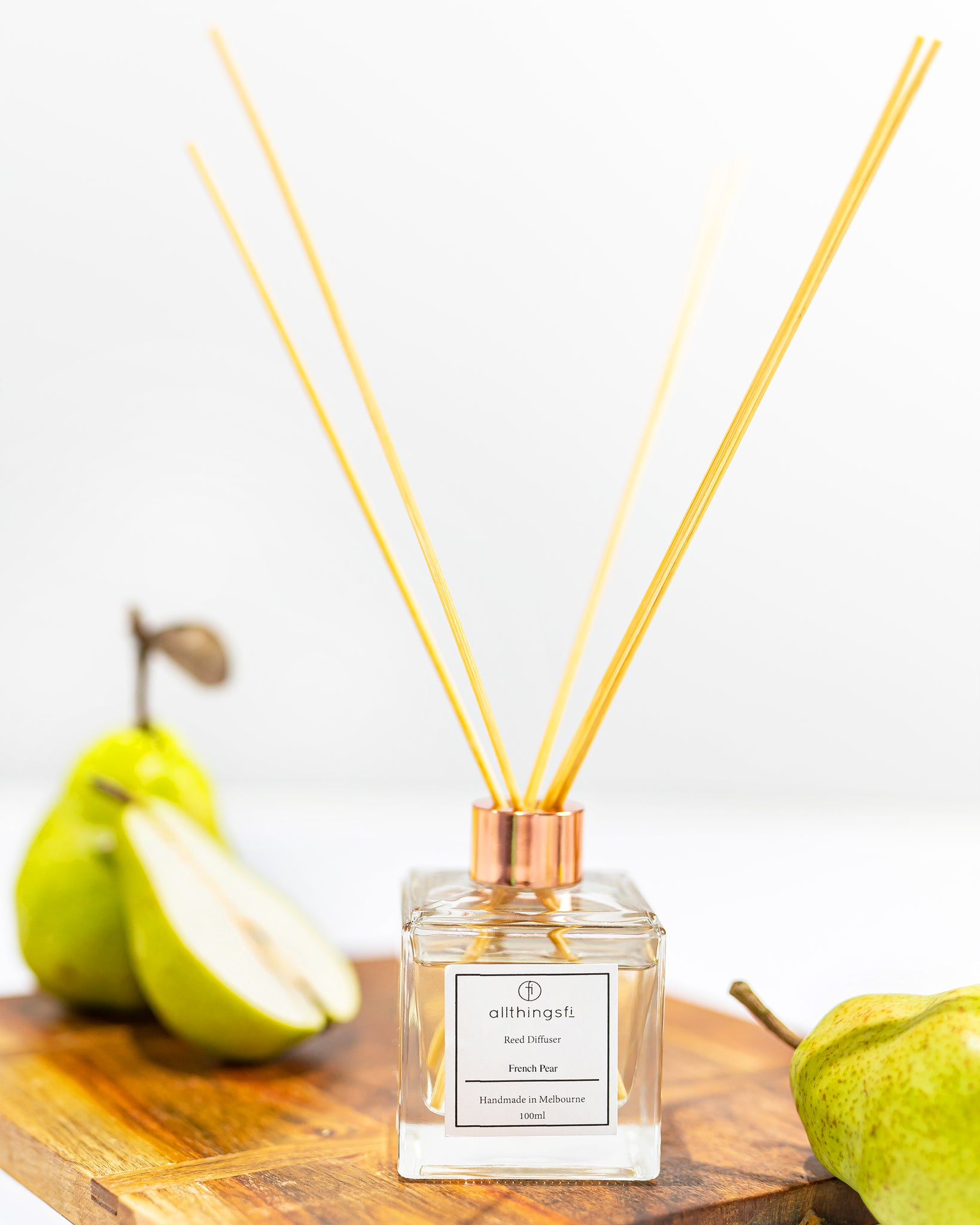 Reed diffuser - French Pear
