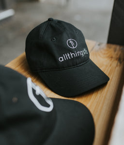 Allthingsfi - Custom Black Caps - Full Logo