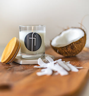 Soy Candle - Coconut & Lemongrass