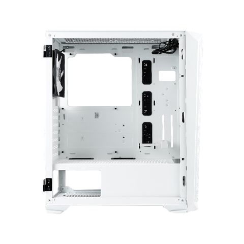 Rakk Haliya ATX Gaming Case White