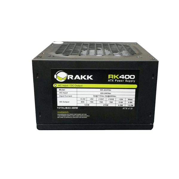Rakk Power Supply 400watts
