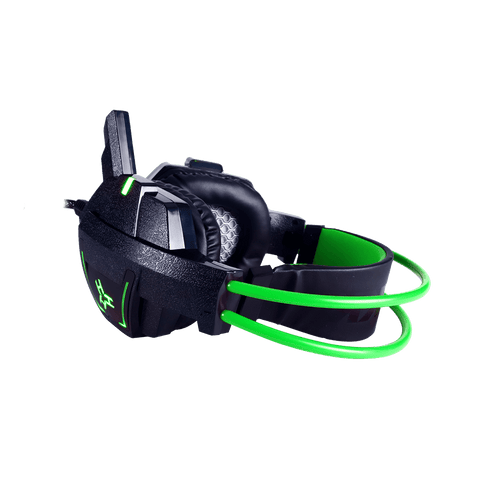 Rakk Daguob Illuminated Gaming Headset Green