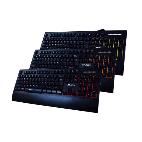 Rakk Illuminated Gaming Keyboard V2 ROY