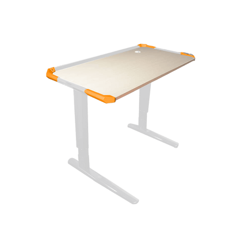 RAKK Mabi XT Adjustable Gaming Desk White